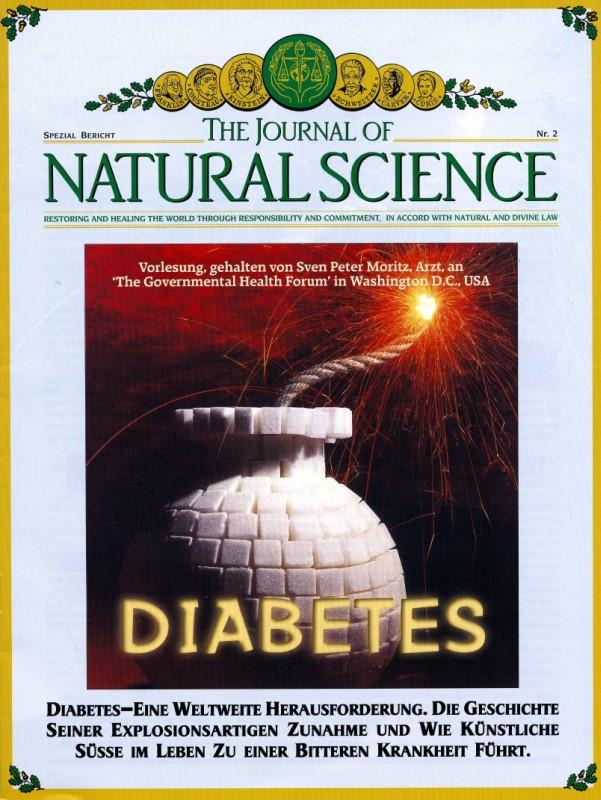 Titelblatt der Publikation : Die Ursache und Heilung von Diabetes