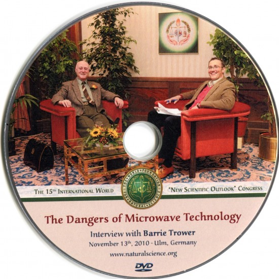 Cover of publication : The Dangers of Microwave Technology