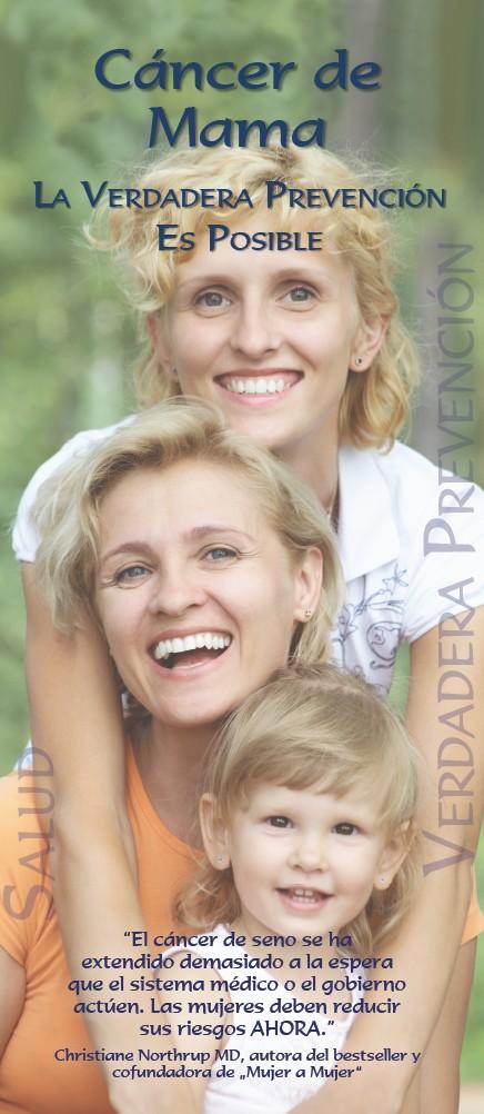 Portada de la publicación: Cáncer de Mama – La Verdadera Prevención Es Posible