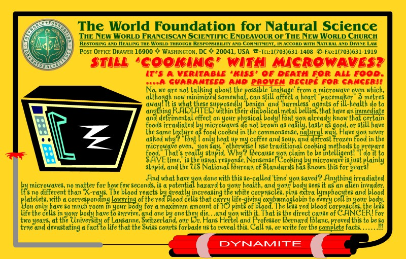 Cover of publication : Still 'cooking' with microwaves?