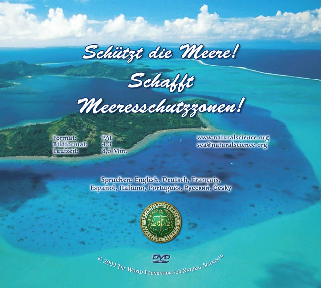 Titelblatt der Publikation : Schützt die Meere! Schafft Meeresschutzzonen!