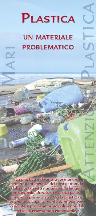 Frontespizio della pubblicazione: Plastica – Un materiale problematico