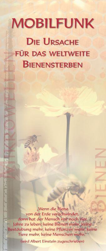 Titelblatt der Publikation : Mobilfunk – Die Ursache für das weltweite Bienensterben