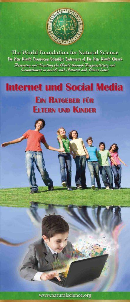 Titelblatt der Publikation : Internet und Social Media – Ein Ratgeber für Eltern und Kinder