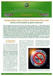 Factsheet Rauchen