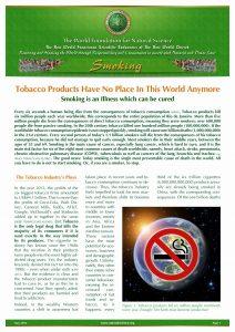 Factsheet Smoking