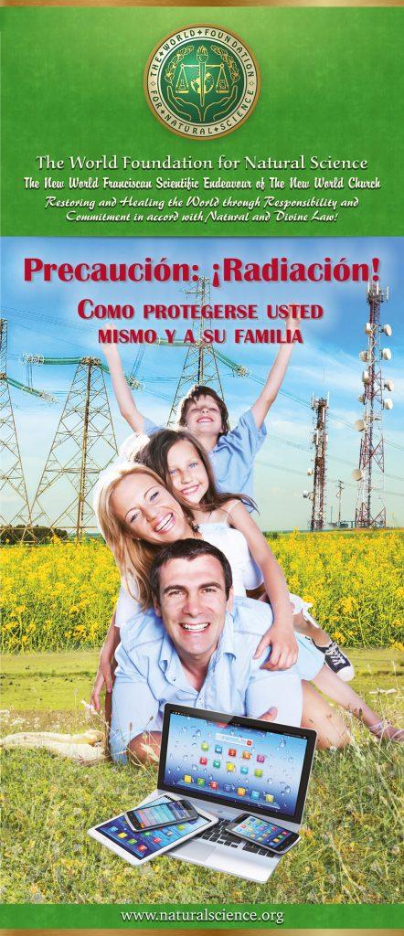 Portada de la publicación: Precaución:¡Radiación! – Como protergerse usted mismo y a su familia