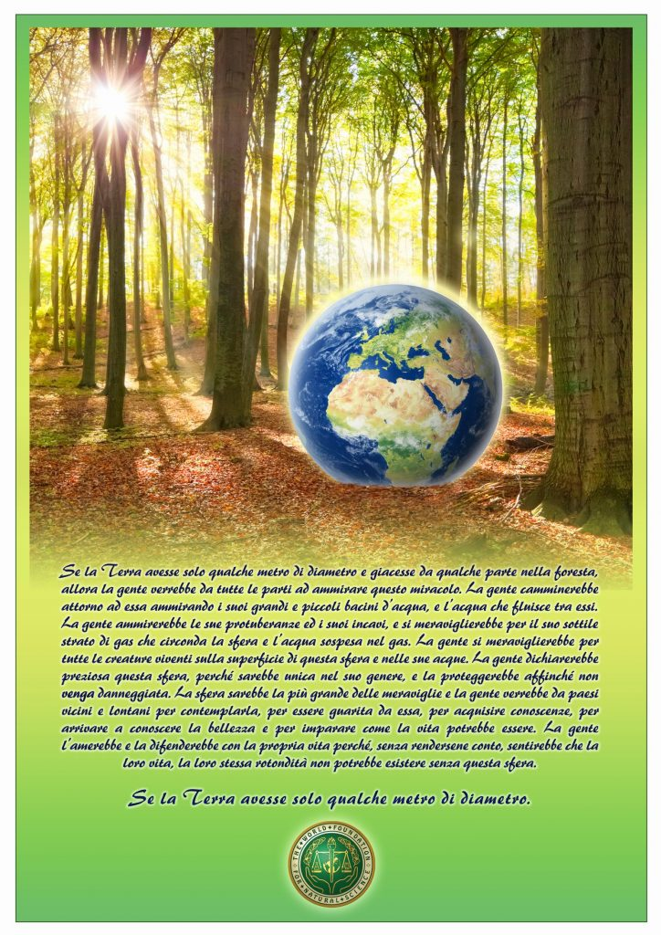 Frontespizio della pubblicazione: Se la Terra avesse solo qualche metro di diametro