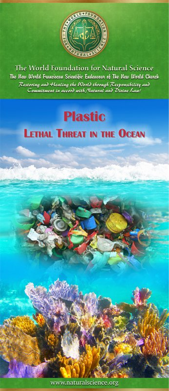 Cover of publication : Plastic – Lethal Threat in the Ocean