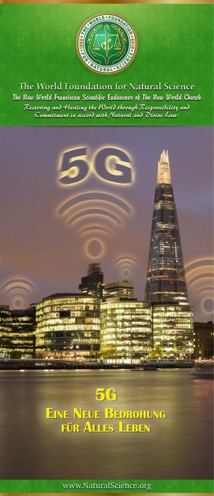 Titelblatt der Publikation : 5G – Eine Neue Bedrohung für Alles Leben
