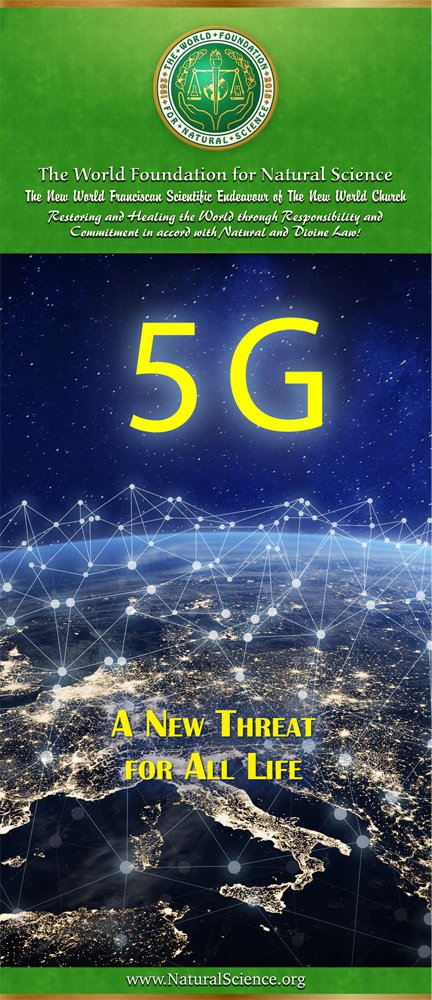 Cover of publication : 5G—A New Threat for All Life