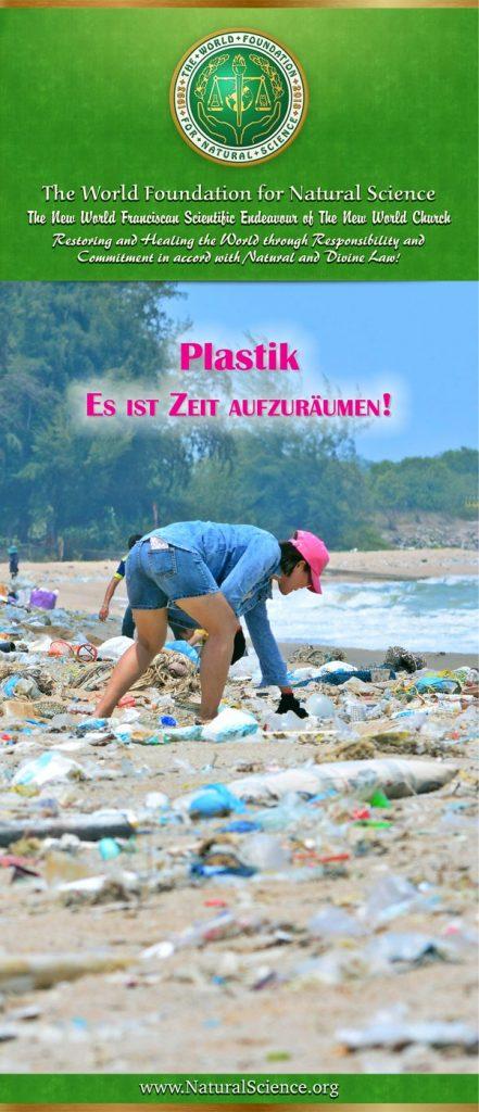 Titelblatt der Publikation : Plastik—Es ist Zeit Aufzuräumen