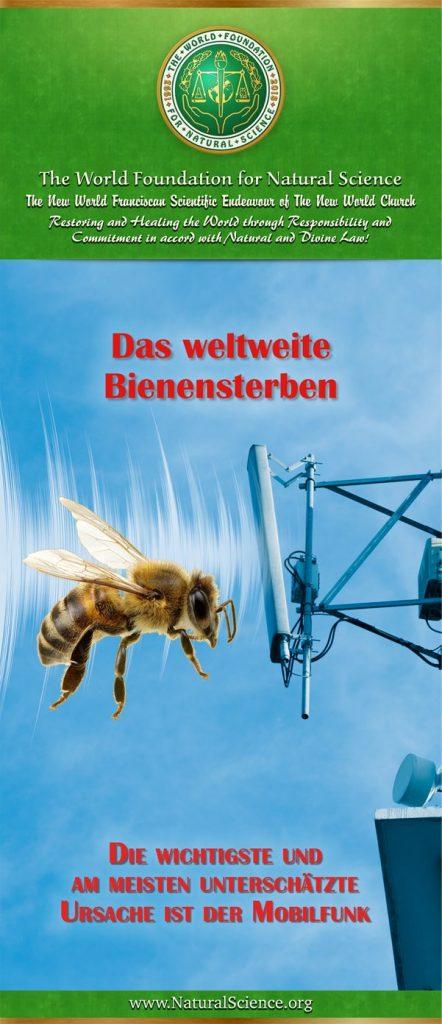 Titelblatt der Publikation : Das Weltweite Bienensterben