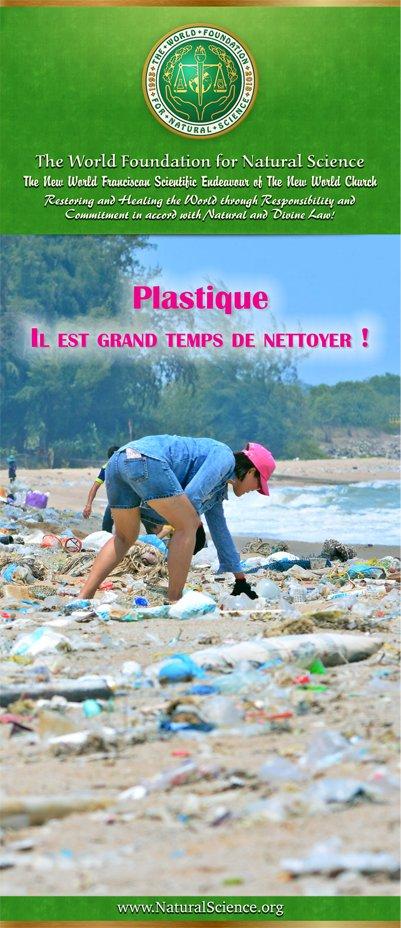 Couverture de la publication: Plastique – Il est grand temps de nettoyer!