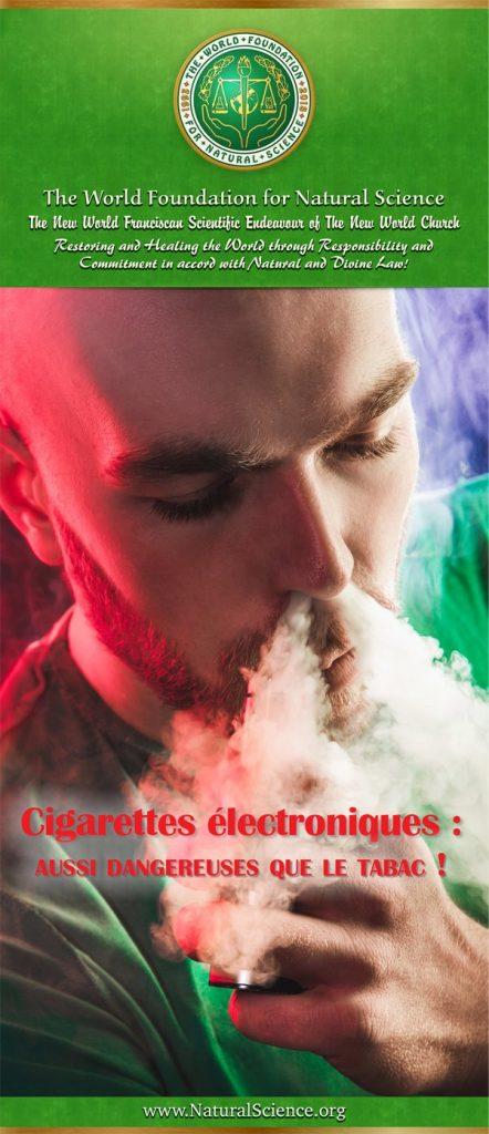 Couverture de la publication: Cigarettes électroniques: Aussi dangereuses que le tabac!