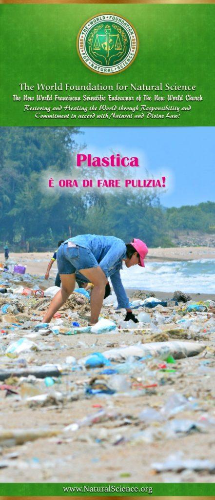 Frontespizio della pubblicazione: Plastica – è ora di fare pulizia!